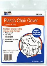 "Schwarz 4 Pack, 46"" x 76"", Packer One Plastic Chair Covers"