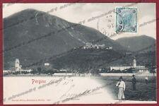 TRENTO PERGINE VALSUGANA 04 Cartolina viaggiata 1901