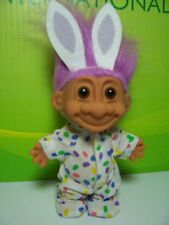 "EASTER WACKY WABBIT / RABBIT / BUNNY  - 5"" Russ Troll Doll - NEW IN ORIGINAL BAG"