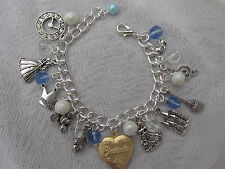 CINDERELLA  CHARMS BRACELET - CHILDS SIZE
