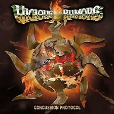 VICIOUS RUMORS - CONCUSSION PROTOCOL   CD NEU
