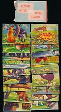1959 F402 Golden Glow Sales WONDERS of ANIMAL KINGDOM -Compete Pack of 20 Cards