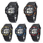 Waterproof Child Boys Kid Watch Digital LED Quartz Alarm Date Sports Wrist Watch