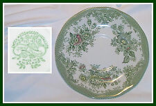 ORIENTAL / ASIATIC PHEASANTS Green Saucer Underplate TRANSFERWARE Wedgwood