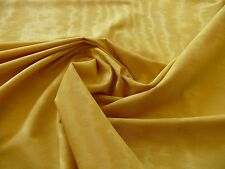 SCALAMANDRE WATERMARK MOIRE MING YELLOW BTY BRILLIANT! MSRP$199/Y