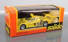 Solido GAM2 1/43 diecast Alpine Renault Turbo in original box.