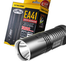 2015 Ver. Nitecore EA41 1020 Lumens Compact LED Flashlight Searchlight