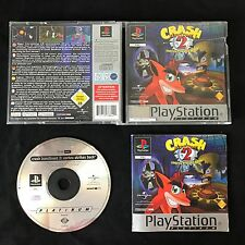 PS1 Crash Bandicoot 2 Cortex Strikes Back OVP Sony Playstation #PS1#00436