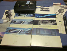 2006 MERCEDES M CLASS ML350 ML 350 500 OWNERS MANUAL W/ CASE & NAVIGATION