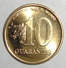 Paraguay 10 guaranies, Cow, animal coin