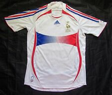 FRANCE Final World Cup Germany 2006 away Shirt jersey ADIDAS Tricolores /adult S