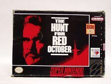 HUNT FOR RED OCTOBER ... Box only SNES SUPER NINTENDO