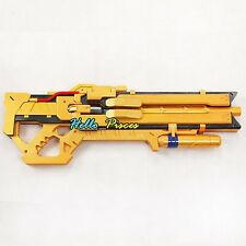 "OW Overwatch Soldier: 76 30"" Gold golden gun weapon cosplay prop hot sale new"