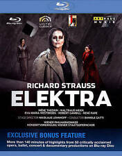 Strauss: Elektra Special Edition Blu-Ray - Exclusive Bonus Feature, New DVDs