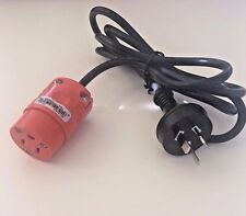 NEW 3-Prong AC Travel Power Plug Extension Adapter Cord fo New Zealand Australia