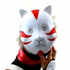 Naruto Shippuuden ANBU Cosplay Mask Itachi Cat Style Red