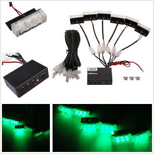 Green 18LED Car Off-Road Emergency Warning Strobe Flash Deck Dash Grille Lights