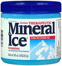 Mineral Ice Pain Relieving Gel 16 oz (Pack of 8)