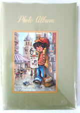 Vintage 1960s Photo Album, for 3.5 x 5 Pictures, Holds 52, Classic French Scene