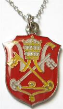 HOLY SEE Vatican Pope Francis Catholic Seal Charm Necklace Pendant