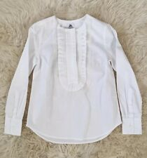 COLLECTION THOMAS MASON FOR JCREW RUFFLE-FRONT POPOVER 2 F5840 $198 SOLD-OUT!