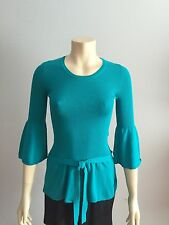 Love Moschino Top Blue Cotton Size 4