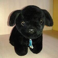 Black puppy dog plush Frontline Flea Tick Advertising 8""