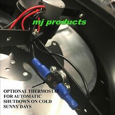 25 degree automatic thermostat for mj products solar fan