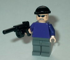 BATMAN Lego The Joker Henchman w/tommy gun (purple torso) NEW 7888 Genuine #26