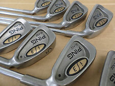 Excellent Ping i3 Blade Black Dot Iron Set-3-PW-X100 standard; New grips