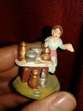 1 mestiere brocche pastori terracotta 3 cm presepe napoli crib shepherds nonn