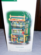 DEPT 56 CHRISTMAS IN THE CITY THE GOLDEN OX MARKET NIB