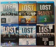 LOST The Complete TV Series Seasons 1-6 Blu-ray Sets Like New/New FREE SHIPPING