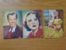 LOTTO 3 CARTOLINA LORETTA YOUNG JUNE LANG JOEL mac CREA NON VIAGGIATE SUBALPINA