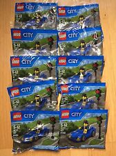 Lego City Sports Car 30349 Party Pack Polybag LOT of 10