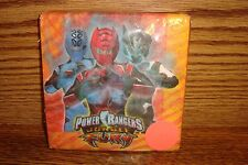 POWER RANGERS Jungle Fury  Birthday Party 9 3/4 in. Beverage NAPKINS 16 CT
