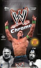 2014 Topps WWE Chrome Wrestling Factory Sealed 8 Box Hobby Case - 16 HIts a Case
