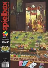 Spielbox magazine issue 1 2016 English edition with promo cards for Port Royal