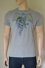 NEW Abercrombie & Fitch Vintage Batman Tee Grey Superhero T-Shirt XXL
