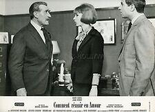 JEAN POIRET DANY SAVAL COMMENT REUSSIR EN AMOUR 1962  PHOTO D'EXPLOITATION #8