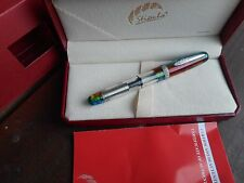 STIPULA ETRURIA RAINBOW PRISMA 2017 MODEL OVERSIZE FOUNTAIN PEN LTD EDITION
