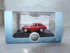 Oxford 76MGBGT001 MGBGT001 1/76 OO Scale MG MGBGT Coupe Tartan Red