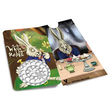 V Syndicate Alice Grinderland White Rabbit Grinder Cards Flat Pocket Wallet Size