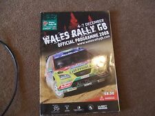 2008 WRC Wales Rally of Great Britain GB Official Programme