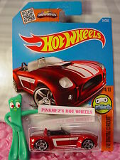 2016 i Hot Wheels FORD SHELBY COBRA CONCEPT #24✰Red;pr5✰DIGITAL CIRCUIT✰Case M/N