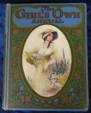 THE GIRL'S OWN ANNUAL Vol XLII (42) H/B Circa 1921 Ed by FLORA KLICKMANN