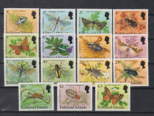 falkland 1984 Sc 387/401,set MNH insects..     f967