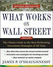 WHAT WORKS ON WALL STREET [978007162576 - JAMES P. O'SHAUGHNESSY (HARDCOVER) NEW