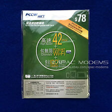 Hong Kong PCCW $78 Prepaid SIM Card Without Contract 3G 42Mbps Data Voice SMS HK