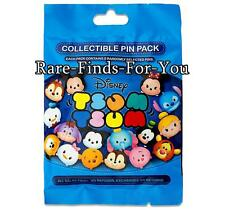 """Disney Parks """"Tsum Tsum"""" Collectible Mystery 5-Pin Set Bag Pack (NEW and SEALED)"""